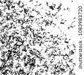 musical notes on white... | Shutterstock .eps vector #1083983720