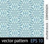 floral pattern. seamless vector ... | Shutterstock . vector #108400604