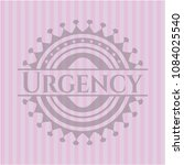 urgency badge with pink... | Shutterstock .eps vector #1084025540