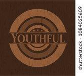 youthful wood emblem | Shutterstock .eps vector #1084025609