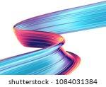 3d render abstract background.... | Shutterstock . vector #1084031384