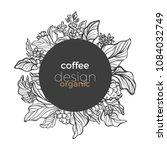 vector graphic coffee tree... | Shutterstock .eps vector #1084032749