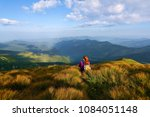 among the nice green hummocks... | Shutterstock . vector #1084051148