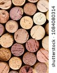 used wine corks | Shutterstock . vector #1084080314