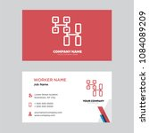 cpu business card design... | Shutterstock .eps vector #1084089209