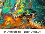 colorful and abstract acrylic...   Shutterstock . vector #1084090604