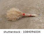 grass broom  handmade broom ...   Shutterstock . vector #1084096034