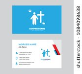 priest business card design... | Shutterstock .eps vector #1084098638