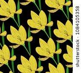 vectro seamless natural pattern ... | Shutterstock .eps vector #1084105358