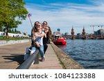 berlin  germany   may  2018 ... | Shutterstock . vector #1084123388
