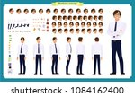 people character business set.... | Shutterstock .eps vector #1084162400