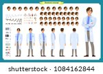 scientist character creation... | Shutterstock .eps vector #1084162844