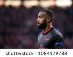 madrid   may 3  lacazette plays ... | Shutterstock . vector #1084179788