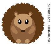 vector illustration of cute... | Shutterstock .eps vector #1084186340
