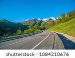 mountain is expensive in alpine ... | Shutterstock . vector #1084210676