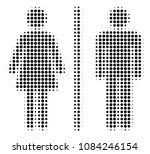 dot black toilet persons icon....   Shutterstock .eps vector #1084246154