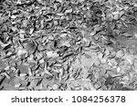 full fallen dry brown leaf flat ... | Shutterstock . vector #1084256378