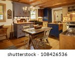 the kitchen in a primitive... | Shutterstock . vector #108426536