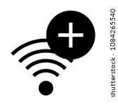 wifi add vector glyphs icon
