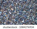 blue pebble ground pattern ... | Shutterstock . vector #1084276934