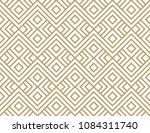 geometric seamless pattern with ... | Shutterstock .eps vector #1084311740
