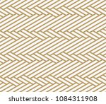 geometric seamless pattern with ... | Shutterstock .eps vector #1084311908