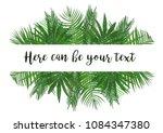 watercolor vector illustration... | Shutterstock .eps vector #1084347380