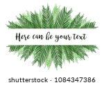 watercolor vector illustration... | Shutterstock .eps vector #1084347386