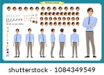 people character business set.... | Shutterstock .eps vector #1084349549