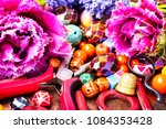 beads  colorful beads for... | Shutterstock . vector #1084353428