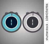 electronic digital stopwatch...   Shutterstock .eps vector #1084356986