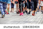 legs of people engaged in... | Shutterstock . vector #1084383404
