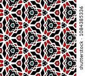 hexagonal symmetry vector... | Shutterstock .eps vector #1084385336