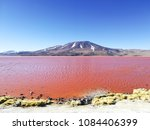 laguna colorada landscape... | Shutterstock . vector #1084406399