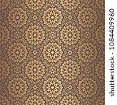 vector arabesque pattern.... | Shutterstock .eps vector #1084409960