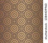 vector arabesque pattern.... | Shutterstock .eps vector #1084409960