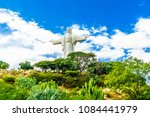 view on world largest jesus... | Shutterstock . vector #1084441979