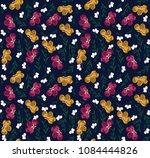 cute small beauty flower... | Shutterstock .eps vector #1084444826