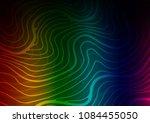 dark multicolor  rainbow vector ... | Shutterstock .eps vector #1084455050