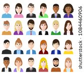 group og working people... | Shutterstock .eps vector #1084460906