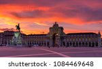 market square sunset view in... | Shutterstock . vector #1084469648