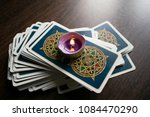 photo cards for fortune telling ... | Shutterstock . vector #1084470290