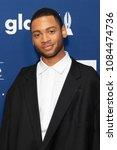 Small photo of New York, NY - May 5, 2018: Ryan Jamaal Swain attends the 29th Annual GLAAD Media Awards at Hilton Midtown