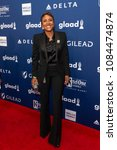 Small photo of New York, NY - May 5, 2018: Robin Roberts wearing suit by Tom Ford attends the 29th Annual GLAAD Media Awards at Hilton Midtown