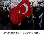 pro palestinian activists... | Shutterstock . vector #1084487858