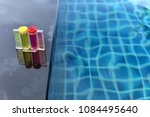 Small photo of Resort Private pool has weekly check maintenance test, Ph chlorine and bromide levels, to make sure water is clean and can swim