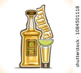 vector illustration of alcohol... | Shutterstock .eps vector #1084501118
