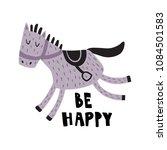 vector illustration  adorable... | Shutterstock .eps vector #1084501583