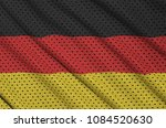 germany flag printed on a... | Shutterstock . vector #1084520630