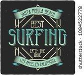 vintage label design with...   Shutterstock .eps vector #1084522778